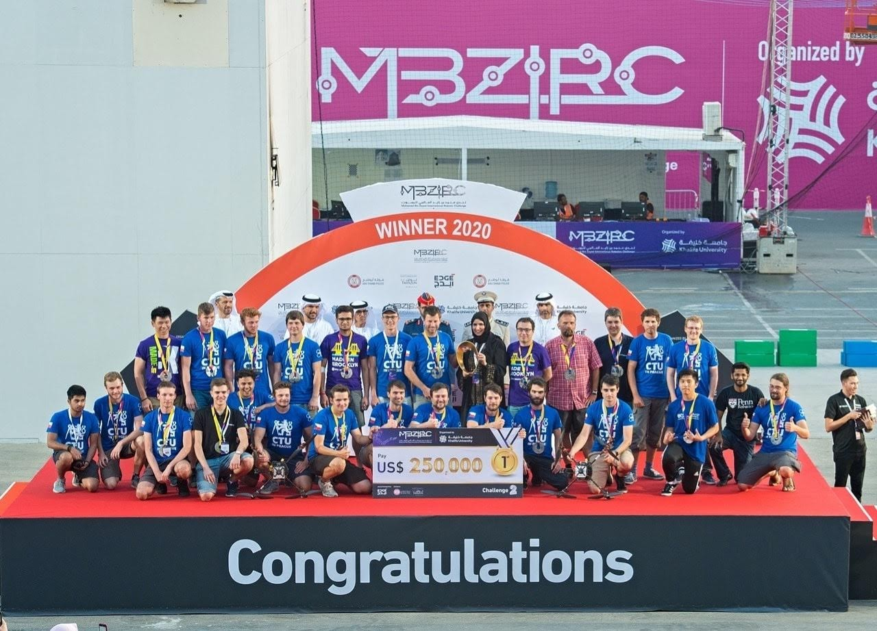 MBZIRC-2020-robotics-challenge-winner